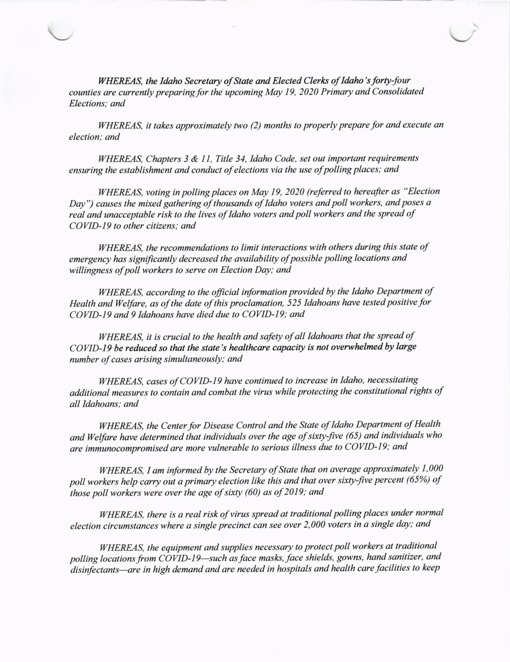 Governors Proclamation April 1 2020 (2)